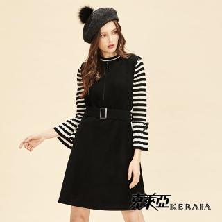【KERAIA 克萊亞】100%羊毛背心短洋裝強力推薦  KERAIA 克萊亞