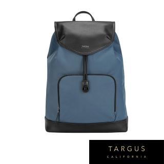 【Targus】Newport 抽繩後背包(莫蘭迪藍/適用 15 吋筆電)  Targus