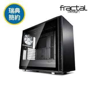 【Fractal Design】Define S2 TG 永夜黑 鋼化玻璃透側電腦機殼  Fractal Design