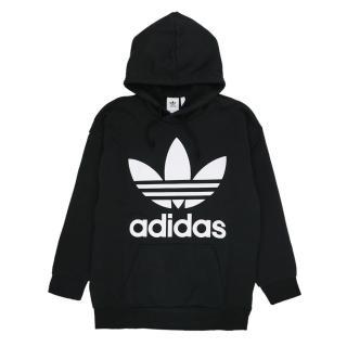 【adidas 愛迪達】TREF OVER HOOD 黑-CW1246(男連帽上衣)  adidas 愛迪達