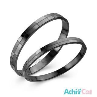 【AchiCat】情侶手環 白鋼對手環 無悔愛戀 B327好評推薦  AchiCat