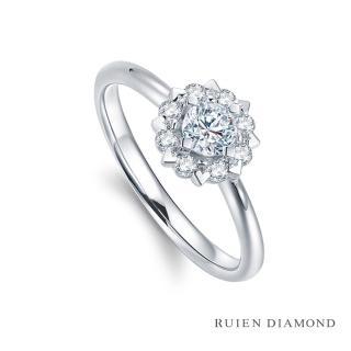 【RUIEN DIAMOND 瑞恩鑽石】GIA50分 D VVS1 3EX(18K白金 心緣 鑽石婚戒)  RUIEN DIAMOND 瑞恩鑽石