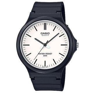 【CASIO 卡西歐】簡約指針休閒錶-羅馬白面(MW-240-7E)強力推薦  CASIO 卡西歐