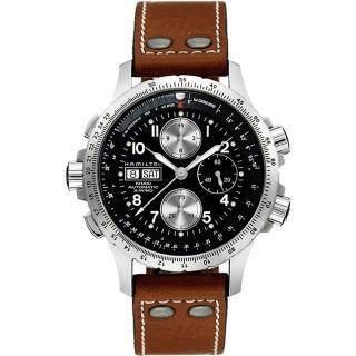 【HAMILTON 漢米爾頓】ID4:星際重生 御風者系列機械腕錶-黑x卡其/44mm(H77616533)好評推薦  HAMILTON 漢米爾頓