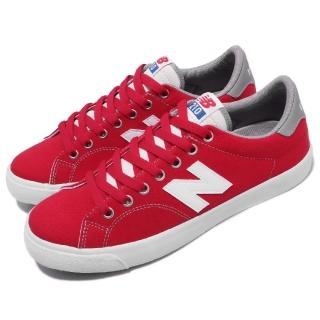 【NEW BALANCE】休閒鞋 AM210CRDD 穿搭 女鞋 紐巴倫 經典款 舒適 球鞋 N字鞋 紅 白(AM210CRDD)  NEW BALANCE