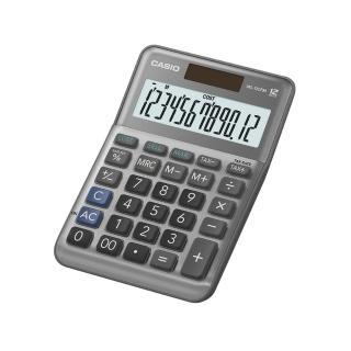 【CASIO 卡西歐】12位數雙電源稅率商用計算機(MS-120FM)好評推薦  CASIO 卡西歐