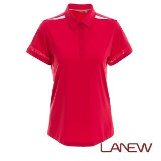 【La new】彈力短袖POLO衫(女50840238)  La new
