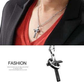 【玖飾時尚】十字架鋼墜抗過敏項鍊(鋼鍊)真心推薦  玖飾時尚