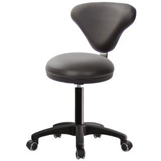 【吉加吉】GXG 漢堡型 圓凳加椅背 工作椅 塑膠腳/防刮輪(TW-81T2EX) 推薦  吉加吉