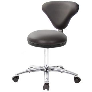 【吉加吉】GXG 漢堡型 圓凳加椅背 工作椅 寬鋁腳(TW-81T2LU1)  吉加吉