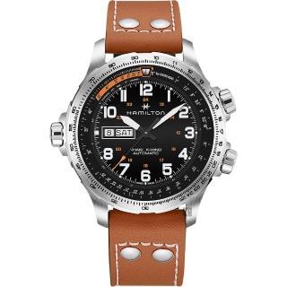 【HAMILTON 漢米爾頓】haki X-Wind 御風者機械錶(H77755533)真心推薦  HAMILTON 漢米爾頓