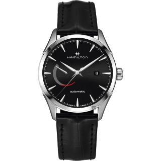 【HAMILTON 漢米爾頓】JAZZMASTER 爵士機械手錶-黑x銀/42mm(H32635731)推薦折扣  HAMILTON 漢米爾頓