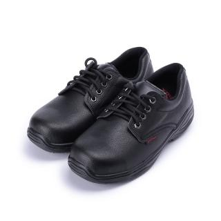 【PAMAX 帕瑪斯】男_素面綁帶鋼頭安全鞋_黑  PAMAX 帕瑪斯