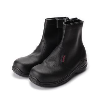 【PAMAX 帕瑪斯】男_長筒拉鍊寬楦鋼頭鞋_黑  PAMAX 帕瑪斯