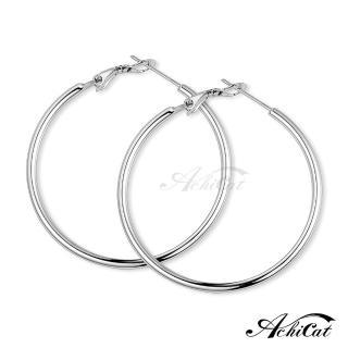 【AchiCat】鋼耳環 經典大圈圈 耳環 G8002(寬度2mm)真心推薦  AchiCat