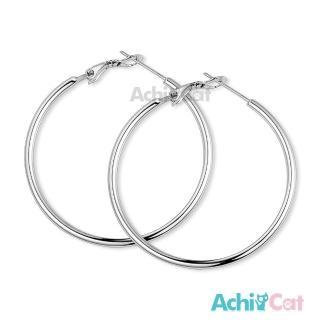 【AchiCat】鋼耳環 經典大圈圈 耳環 G8003(寬度1.6mm)好評推薦  AchiCat