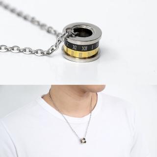 【玖飾時尚】鋼製密語數字黑金滾輪(鋼鍊) 推薦  玖飾時尚