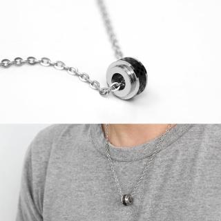 【玖飾時尚】鋼製日雜風質感格紋滾輪(鋼鍊)  玖飾時尚
