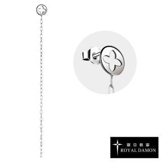 【ROYAL DAMON 羅亞戴蒙】獨特搖擺 單耳耳環(KE132)真心推薦  ROYAL DAMON 羅亞戴蒙