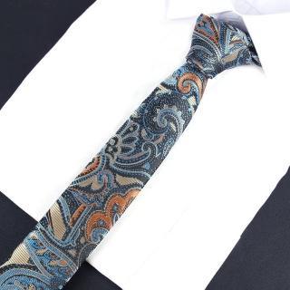 【拉福】領帶鋼龍6cm窄領帶手打領帶  拉福