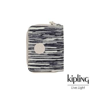 【KIPLING】線條塗鴉紋短夾-MONEY POWER好評推薦  KIPLING