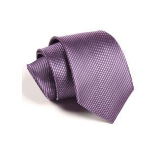 【拉福】防水領帶8cm寬版領帶拉鍊領帶(紫) 推薦  拉福