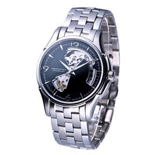【HAMILTON 漢米爾頓】JazzMaster經典鏤空機械錶(H32565135)  HAMILTON 漢米爾頓