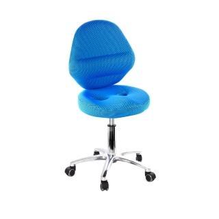 【吉加吉】矮座工作椅 加椅背 小鋁腳(TW-T10LUXS)  吉加吉