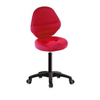 【吉加吉】工作椅 加椅背 塑膠腳/防刮輪(TW-T010EX)強力推薦  吉加吉