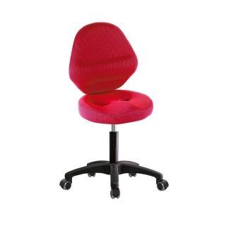 【吉加吉】矮座 工作椅 加椅背 塑膠腳/防刮輪(TW-T10EXS)  吉加吉