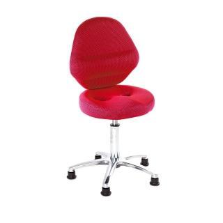 【吉加吉】工作椅 加椅背 鋁合金腳(TW-T10LU)  吉加吉