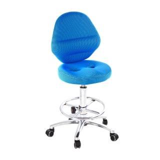 【吉加吉】吧檯椅 加椅背 小鋁腳+踏圈+防刮輪(TW-T10LUXK)  吉加吉