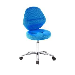 【吉加吉】工作椅 加椅背 中鋁腳+防刮輪(TW-T10LU2X)  吉加吉
