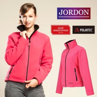 【JORDON 橋登】女款 WINDSTOPPER+POLARTEC防風保暖外套(725)
