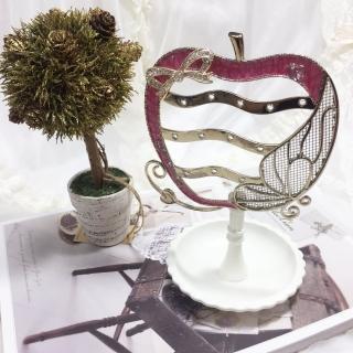 【BonBon naturel】歐式童話蘋果首飾吊掛收納皿(首飾架)好評推薦  BonBon naturel