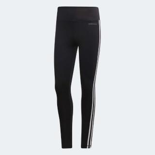 【adidas 愛迪達】緊身褲 2 Move 3-Stripes 運動 女款 愛迪達 內搭褲 路跑 健身 重訓 飛輪 黑 白(DU2040)強力推薦  adidas 愛迪達
