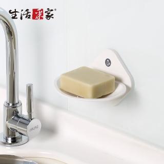 【生活采家】廚房強力無痕貼純白肥皂架(#57002)推薦折扣  生活采家