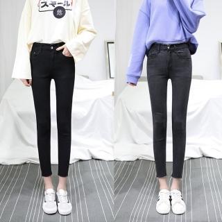 【WHATDAY】韓版顯瘦緊身小腳褲25-32(共四色)真心推薦  WHATDAY