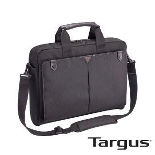【Targus】Classic+ 經典側背包(黑色/適用 14.1 吋筆電)  Targus