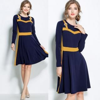 【KEITH-WILL】花香鳥語美式洋裝(共1色)  KEITH-WILL