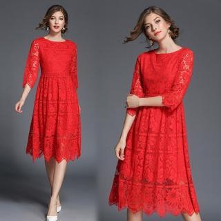 【KEITH-WILL】歐美明星都要的蕾絲洋裝(共1色)真心推薦  KEITH-WILL