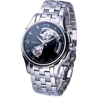 【HAMILTON 漢米爾頓】JazzMaster 經典鏤空機械錶(H32565135)真心推薦  HAMILTON 漢米爾頓