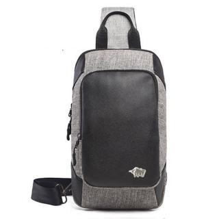 【DRAKA 達卡】City Walk 系列-側背/胸包-雙層拉鍊(44DK722-5324)  DRAKA 達卡