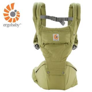【Ergobaby】坐墊式嬰兒揹巾/揹帶(綠色)強力推薦  Ergobaby