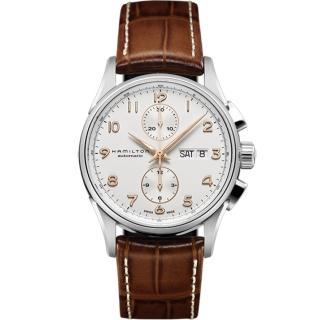 【HAMILTON 漢米爾頓】MAESTRO AUTO CHRONO機械腕錶(H32576515) 推薦  HAMILTON 漢米爾頓