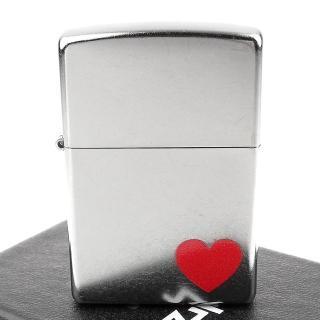 【Zippo】美系~LOVE-愛心圖案設計打火機  Zippo
