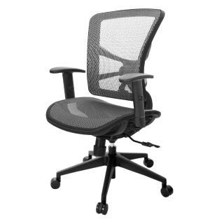 【吉加吉】短背全網 電腦椅/升降扶手(TW-81X7E5)  吉加吉