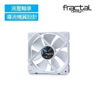 【Fractal Design】Dynamic X2 GP-12 全白 機殼系統靜音風扇  Fractal Design