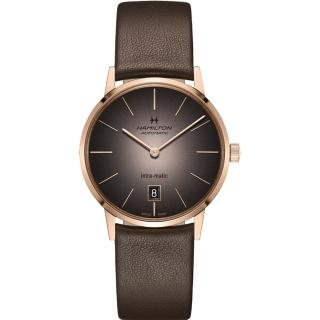 【HAMILTON 漢米爾頓】美國經典系列Intra-Matic機械腕錶(H38465501) 推薦  HAMILTON 漢米爾頓
