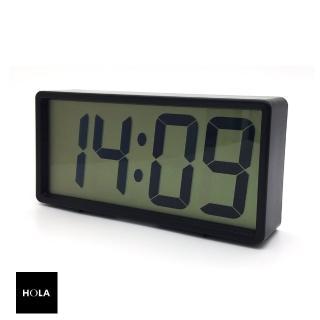 【HOLA】簡約大數字LCD電子鐘  HOLA